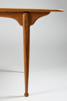 Dining Table Designed by Peder Moos, Denmark 1949 | From a unique collection of antique and modern dining room tables at https://www.1stdibs.com/furniture/tables/dining-room-tables/