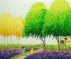 cuadros-modernos-de-paisajes-pintados-al-oleo