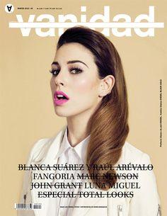 Blanca Suárez - Vanidad magazine cover