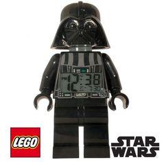 Un réveil Lego Star Wars, pour une déco ludique à l'effigie de Dark Vador !