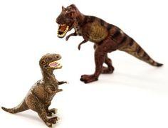 Tyrannosaurus rex Mum and Baby Model Set