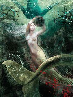 "Anna et Elena Balbusso SPECTRUM 20 - Art ""Men Who Wish to Drown"" on Behance"