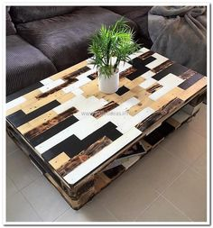 pallet-coffee-table-art