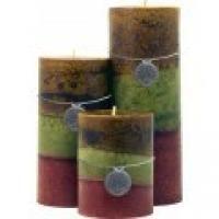 Morracan Spice Tri Pillar Candles