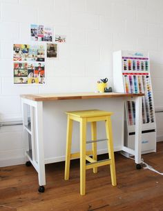 Since sharing a tour of the T&TB studio , I've had a few questions about my cutting table – so I thought I'd tell you a bit more about it...