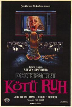 """""""Poltergeist"""" (Turkish poster)"""