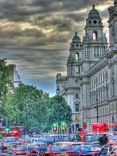 Parliament Square. London.