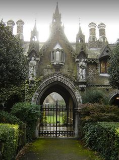 minarachelle:  Faerie Magazine - Gothic Gatehouse UK | via Facebook op We Heart It