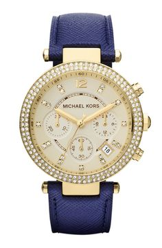 Michael Kors. Cobalt Blue. Perfection.