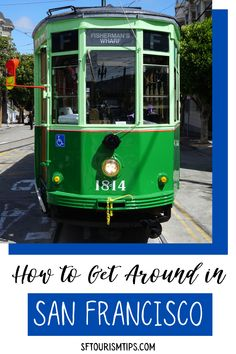 Getting around San Francisco is a fun experience. You can hop on a cable car, cruise down Market Street on a historic streetcar, or take a ferry across the bay. Discover helpful tips on all the different ways to get around SF. San Francisco Vacation, San Francisco Travel, San Francisco Ferry, Visit California, California Travel, Mission Bay, Travel Expert, Fun Activities To Do, North Coast