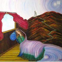 Título: Visualización Obra de Arte en Oleo y Acrílico sobre tela.  Disponibilidad a la venta /For sale montserratmaciel.com