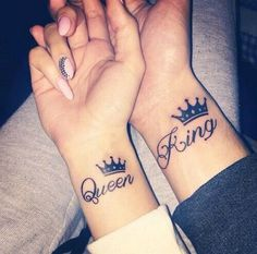 Are you madly in love with your partner? Have you ever thought of making a tattoo for two to manifest your feelings? Here is a Cute Couple Tattoos Ideas for