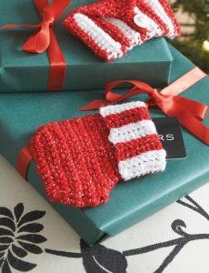 Christmas Tree Skirt | Yarn | Free Knitting Patterns | Crochet Patterns | Yarnspirations