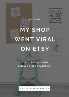 Will going viral on Etsy cause you to spontaneously combust into an epic ball of rich and famous? See what really happens. Click to read.