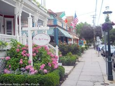 Cape May, NJ...charming place to visit...maybe someday...  :)