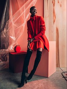 Nykhor Paul für/for Marie Claire Südafrika/South Africa August 2015. Credits: Model: Nykhor Paul @nykhor Photographer: Elford/De La Forêt http://www.elforddelaforet.com @worldofjuju Stylist: Kelly Fung @Kellynfung Marie Claire South Africa http://www.marieclaire.co.za/ @marieclairesa