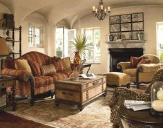 Hemingway Living Room Design