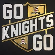 Go Knights Go! – Your Streaming TV Lv Golden Knights, Vegas Golden Knights Logo, Golden Knights Hockey, Las Vegas Knights, Golden Night, Hockey Room, Las Vegas Photos, Stanley Cup Playoffs, St Louis Blues