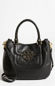 Tory Burch 'Amanda' Leather Hobo #Glimpse_by_TheFind