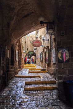 Old Jaffa, Tel Aviv, Israel...or I could just talk to my best friend who's actually from here