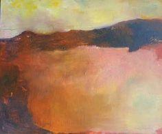 "Saatchi Art Artist Karin Aherne Jansen; Painting, ""Abstract Landscape Ringabella 34"" #art"