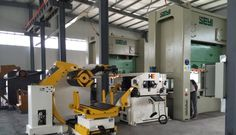 Uncoiler straightener cum NC servo feeder machine 3 In 1 is working with SEYI press machine in our client's factory   Vanessa Fang   Pulse   LinkedIn