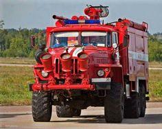 Russian Airport Crash Truck