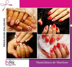 red and white nails http://www.larybeautycenter.ro/servicii/unghii-cu-gel-sau-acryl