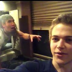 Hunter and matt, this cracks me up everytime, i've gotta say, matt is my favorite of his band, but i love them all. and dann too :P