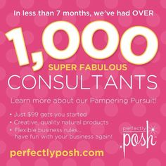 Be a part of Perfectly Posh!! www.perfectlyposh.us/AmyFent