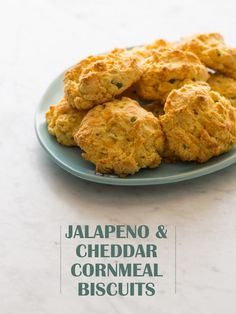 jalapeño cheddar cornmeal biscuits | spoon fork bacon