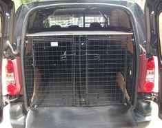 mercedes vito van conversion dog cages and storage - Google Search