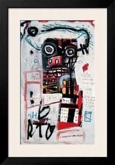 Number 1 Giclee Print by Jean-Michel Basquiat at Art.com