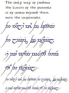Tolkien Elbisches Tattoo, Lotr Tattoo, Tattoo Script, I Love The Lord, Lord Of The Rings, Word Tattoos, Body Art Tattoos, Elven Words, Elvish Writing