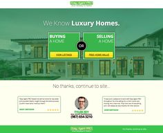 Example of real estate website with welcome gate. The Welcome Gate is a lead capture tool that can be quickly deployed and can easily capture up to 3-10% more leads from your website.  What's a welcome gate?  Well, it is a landing page that is only shown to first time visitors of your website.  It asks them for their contact information in exchange for a value proposition. And offers direct links to key areas of the website. You can now get seller, buyer, and rental leads from the first page…