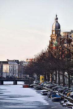Iced Amsterdam. Simply beautiful