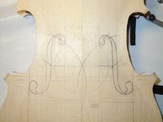 violin f hole placement sketch - Google Search