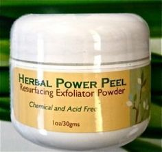 Herbal Power Peel- Green Chemical & Acid Free Peel-Professional or Home Use by Herbal Power Peel. $75.00. Treats Acne, Oily Congested Skin, Large Pores, Sun Damage, Fine Lines and Wrinkles. Alternative to acids and  chemical peels, Microdermabrasion Like Results. All Natural Chemical and Acid Free, No Preservatives, Fillers or Additives. Green Algae & Herb Based Skin Exfoliant, Scrub, Mask or Peel. Safe for all skin types- May be used on face and body. Herbal Power Peel Re...