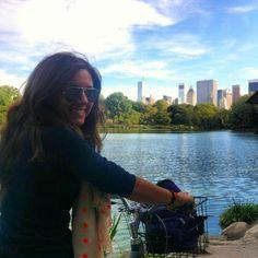 Biciclettando a Central Park