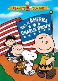 Peanuts - This Is America, Charlie Brown (DVD)