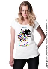 Damen / Ladies Marienkäfer / Ladybug Kekeye Dots Design T-Shirt - thats so sweeeet!