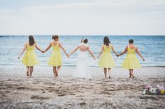 FESTIVAL BRIDES | Bethan and Adam's Bright & Colourful Barn Wedding on The Beach