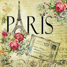 Paris printable image