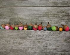 Must do this with all the acorns I've collected over the years. One can only have so many fairy hats.