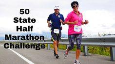50 States Half Marathon Challenge - Run and Smile