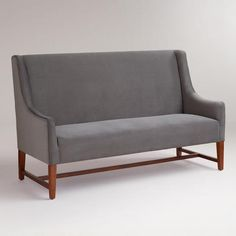 Heather grey sofa