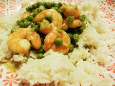 J'ai Toujours Aimé le Jaune Moutarde: Curry aux petits pois et aux crevettes