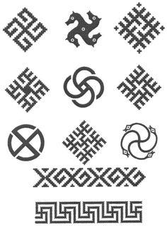 Types of swastika