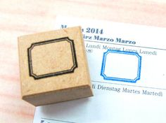 Japanese Rubber Stamp for FilofaxPostCardtiny by CoolJapanSTAMP