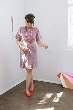 Apron dress by Ermie...I just love it!